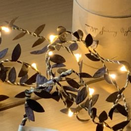 COPPER LEAF FAIRY LIGHTS FROM MELANIE PORTER