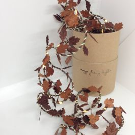 COPPER LEAF FAIRY LIGHTS – HANDMADE BY MELANIE PORTER DESIGN