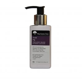 ORGANIC HAND AND BODY LOTION IN FRESH FIG