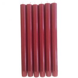 GUARDSMAN RED ECO DINNER CANDLES