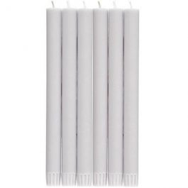 GULL GREY SET OF 6 CANDLES