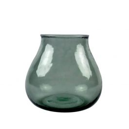PETROLEUM RECYCLED GLASS VALENCIA VASE