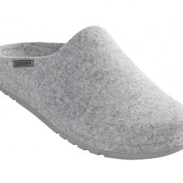 100% WOOL FELT IRIS SLIPPERS (EU39 UK6)