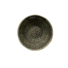 SMALL RAMEKIN IN CHARCOAL MIXED PATTERNS