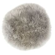 Long haired sheepskin seat cushion from Shepherd Home