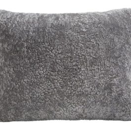 Shepherd Home sheepskin and wool cushion