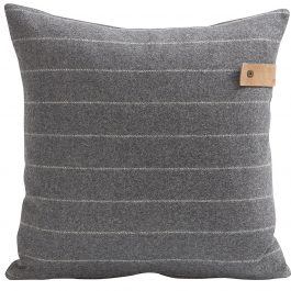 Shepherd Home pinstripe 100% wool cushion