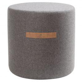 Shepherd Home wool pouffe