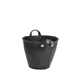 HANDMADE  RECYCLED TYRE BASKET (SIZE S)