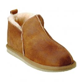 SHEPHERD OF SWEDEN ANTON MENS SHEEPSKIN SLIPPERS (EU45 UK11)