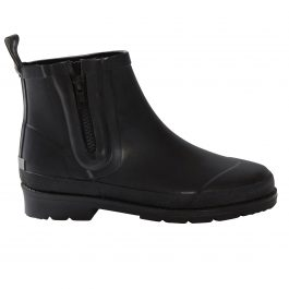 BLACK CITY RUBBER ANKLE BOOT