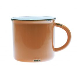 BURNT ORANGE TINWARE VINTAGE INSPIRED MUG