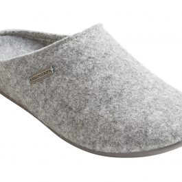 100% WOOL FELT JON SLIPPER (EU43 UK9)