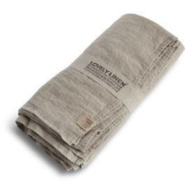 100% LINEN TABLE CLOTH IN NATURAL (SIZE L)