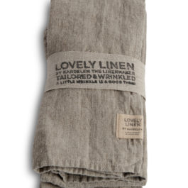 100% LINEN TABLE NAPKIN IN NATURAL BEIGE