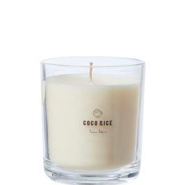 NATURAL COCONUT AND RICE OIL SCENTED CANDLE (CHAMPAGNE POMELO)