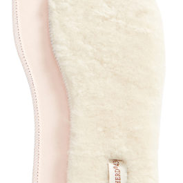 CREAM SHEEPSKIN BOOT OR SHOE LINERS