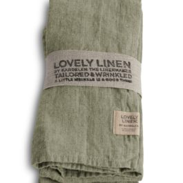 100% LINEN TABLE NAPKIN IN AVOCADO