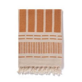 DEFNE DELUXE ORGANIC COTTON THROW