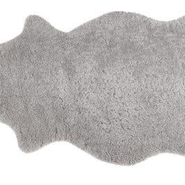 ELLA 100% SHEEPSKIN RUG IN GRANITE GREY