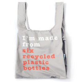 100% RECYCLED REUSABLE SHOPPING BAG