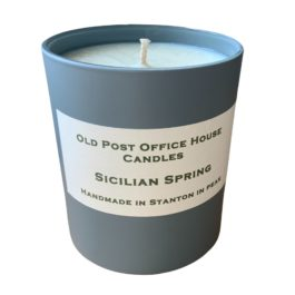 SICILIAN SPRING PURE OIL CANDLE (40 HOUR BURN TIME)